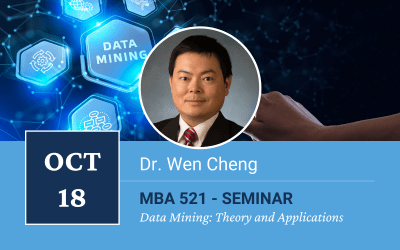 Dr. Wen Cheng Special  Seminar on Data Mining: Theory and Applications