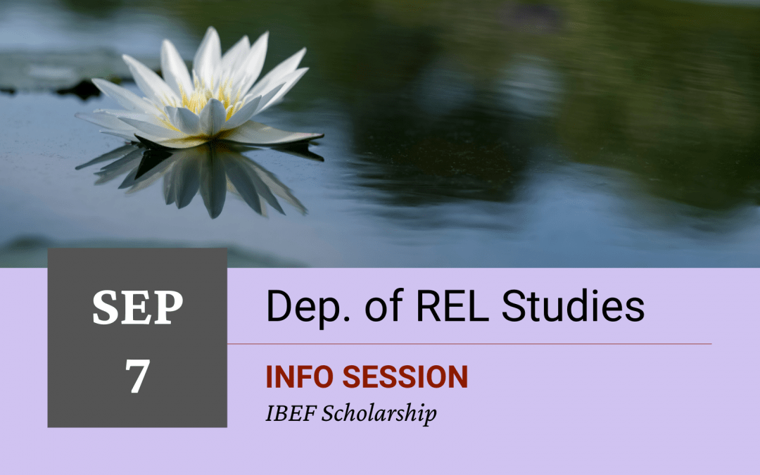 IBEF Scholarship Information Session Fall 2021 for Award Recipients