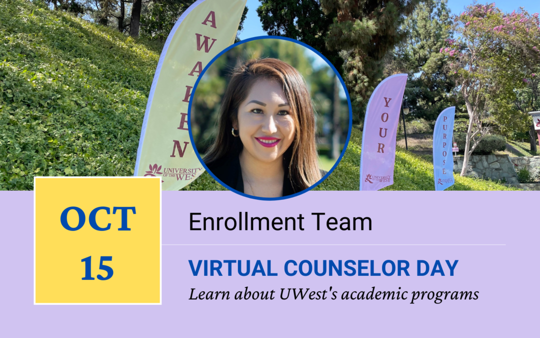 Join Us for UWest's Virtual Counselor Day