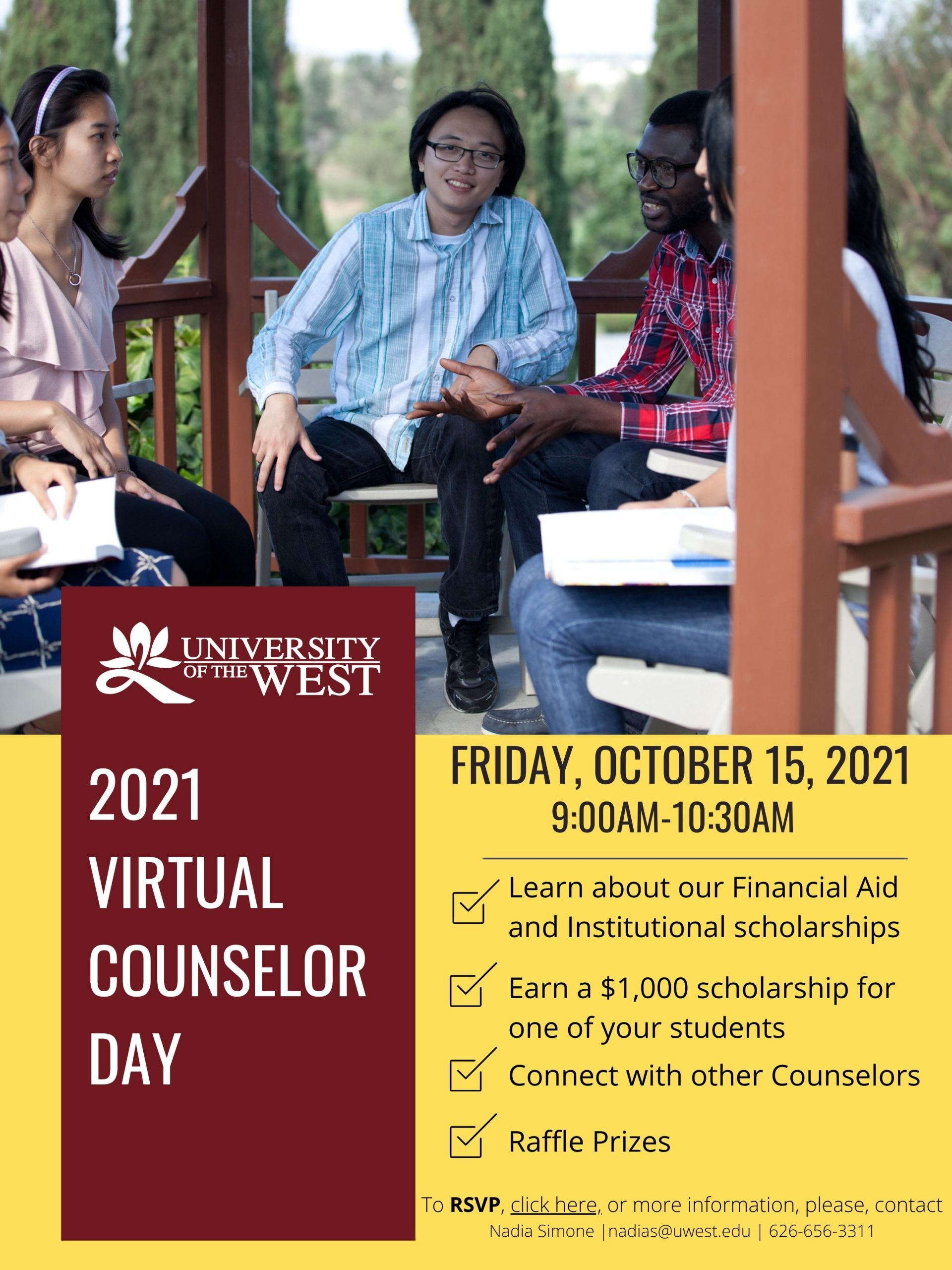 Counselor Day 2021 flyer