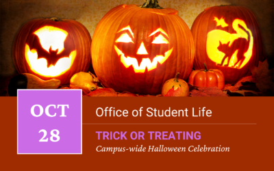 Campus-wide Halloween Trick or Treating Invitation